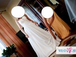 Piękna suknia ślubna!Polecam!