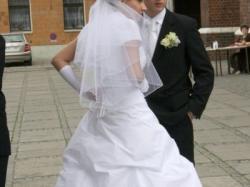 Piękna Suknia Ślubna !!! Polecam