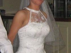 Piekna Suknia ślubna, POLECAM!!! WARTO!!!