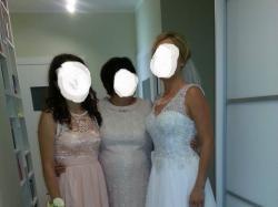 Piękna suknia ślubna projektu Alpiny Mróz r.38