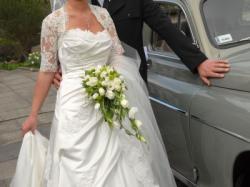 Piękna suknia ślubna Pronovias Davis