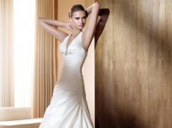 Piękna suknia ślubna Pronovias Flash