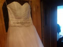 Piękna suknia ślubna r.38 Do NEGOCJACI + gratis