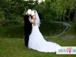 Piękna suknia ślubna Rochelle