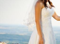 Piękna suknia ślubna roz. 38 + welon gratis