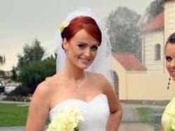 Piękna suknia ślubna roz. 38 z salonu Adria