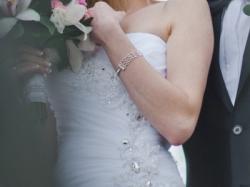 Piękna suknia ślubna rozm 34-36 biała JAK NOWA