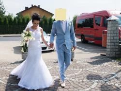 Piękna suknia ślubna rozm 36-38