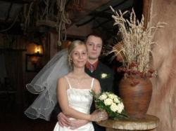 Piękna suknia ślubna rozm. 36