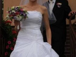 Piękna Suknia Ślubna (rozm. 36) + GRATISY!