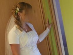 piękna suknia ślubna - rozm 38
