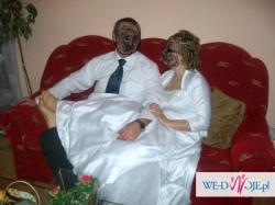 Piękna suknia ślubna rozm.42-46,odpowiednia również na ciążę