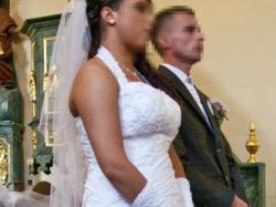 Piękna suknia ślubna rozm.42+wszystkie dodatki