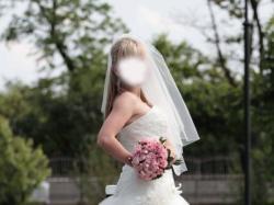 Piękna suknia ślubna - rozmiar 36