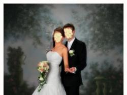 Piękna suknia ślubna rozmiar 36/38 GRATISY!!