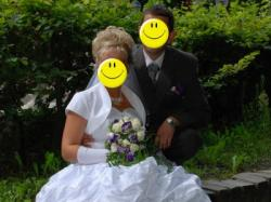 Piękna Suknia Ślubna Rozmiar 38-40