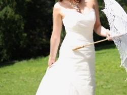 Piękna suknia ślubna, rozmiar 38