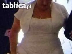 Piękna suknia ślubna rozmiar 48/50 ZAPRASZAM !