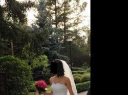 Piękna suknia ślubna - rybka