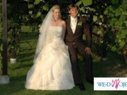 piękna suknia ślubna San Patrick Bosforo