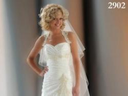 Piękna suknia ślubna SARAH MAGIC 2902 + bolerko i welon