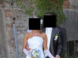 Piękna suknia ślubna Sarah rozm. 36 bolerko gratis