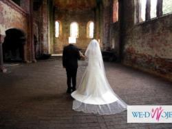 piękna suknia ślubna shelby plus gratisy