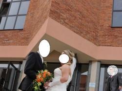 Piękna suknia ślubna Sincerity rozmiar 40/42