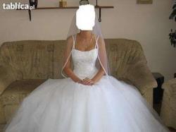 Piękna suknia ślubna Sottero&Midgley + buty (nieużywane)