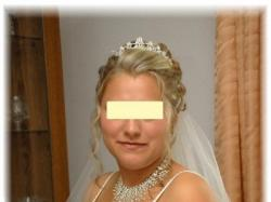 Piękna suknia ślubna sprowadzana  z USA