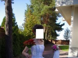 Piękna suknia ślubna, sprzedam tanio!