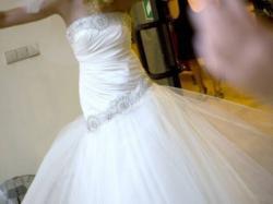 Piękna suknia ślubna-super okazja!