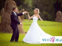 Piękna suknia ślubna szyta na miarę!!!