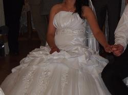 piękna suknia ślubna tanio!