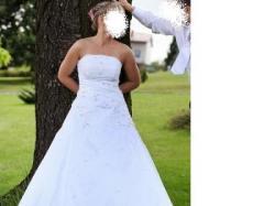 Piękna suknia ślubna - TANIO !!!!!
