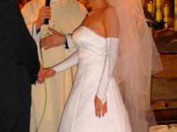 Piękna suknia ślubna - TANIO