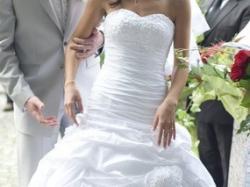 Piękna suknia ślubna TIFFANY rozm. 36/38