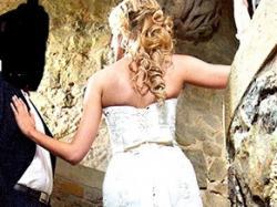 """Piękna suknia ślubna typu """"rybka"""""""