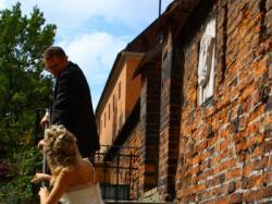 Piękna suknia ślubna Urszula Mateja + welon w różyczki