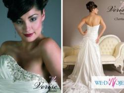 Piękna suknia ślubna Verise Bridal Clarissa 40/42 + welon