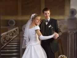 Piękna suknia ślubna w bardzo dobrym stanie