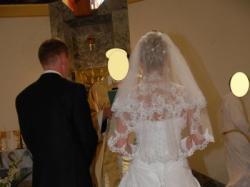 piękna suknia Ślubna w dobrym stanie !!!!