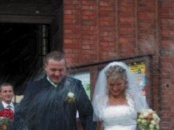 Piękna suknia ślubna w rozm 40