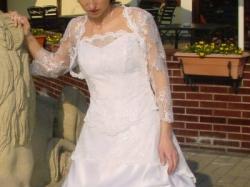 Piękna suknia ślubna w rozmiarze 34-38