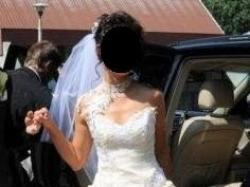 Piękna suknia ślubna wg projektu Urszuli Mateji, model 640   NAJTANIEJ!!! OKAZJA
