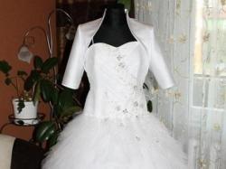 Piękna suknia ślubna z 300m tiulu. OKAZJA!