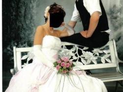 Piękna suknia ślubna z Anglii