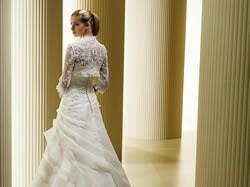 Piękna suknia slubna z bolerkiem rozmiar 38-40