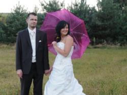 Piękna suknia ślubna z kolekcji Agnes