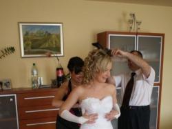 Piękna Suknia Ślubna z kolekcji Emmi Mariage 2009